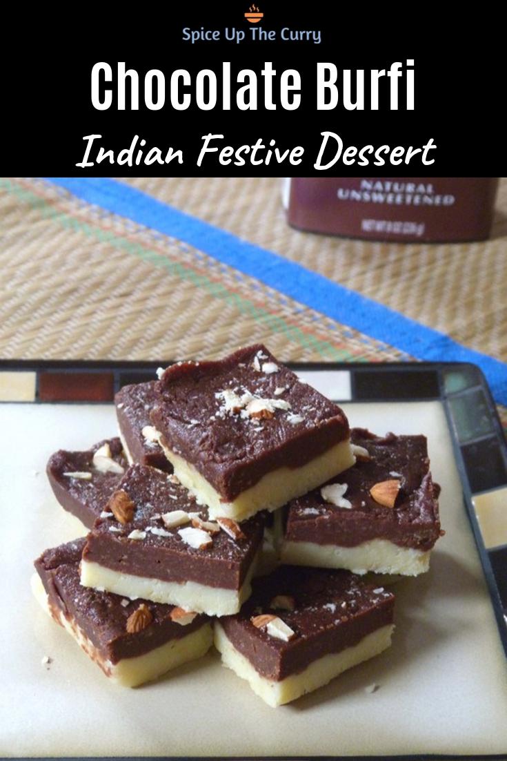 Chocolate Burfi Recipe Mawa Chocolate Barfi Recipe Indian Desserts Indian Dessert Recipes Chocolate Burfi