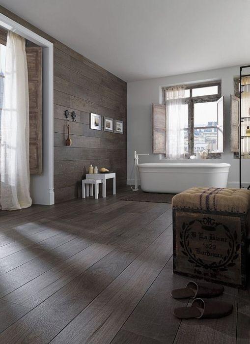 Oxford Antracita Wood Effect Tile By Porcelanosa In Tilestyle Home Interior Design Bathroom Interior Bathroom Design Inspiration