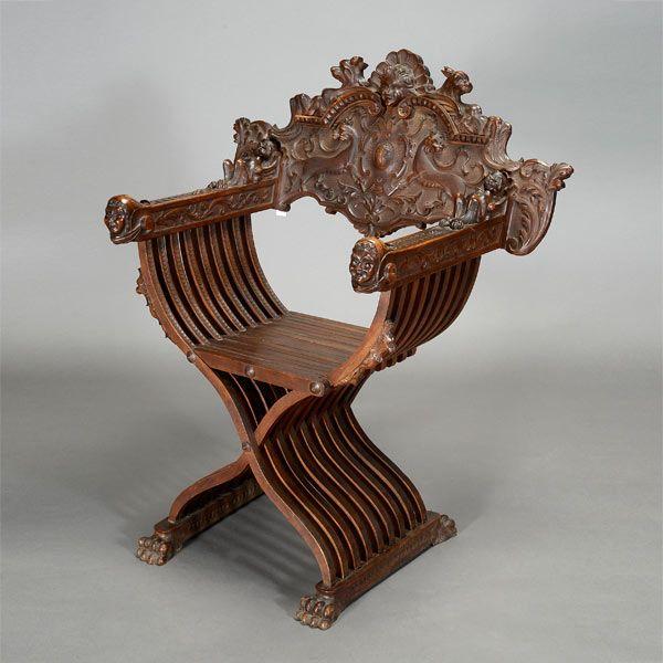 Talian Renaissance Savonarola Chair In 2019 Italian