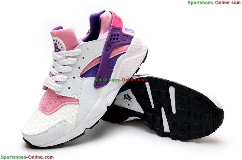 408e1ed3a370 Order Nike Women s Air Huarache Woven Running Shoes-Light Arctic Pink  White Purple
