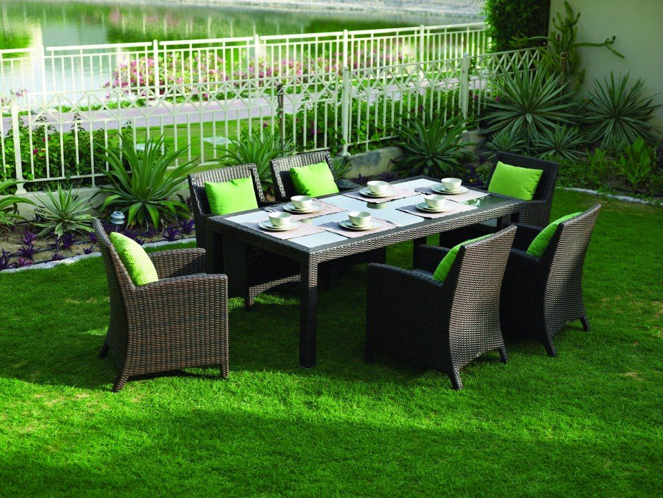 Rattan House Barcelona Dining Set