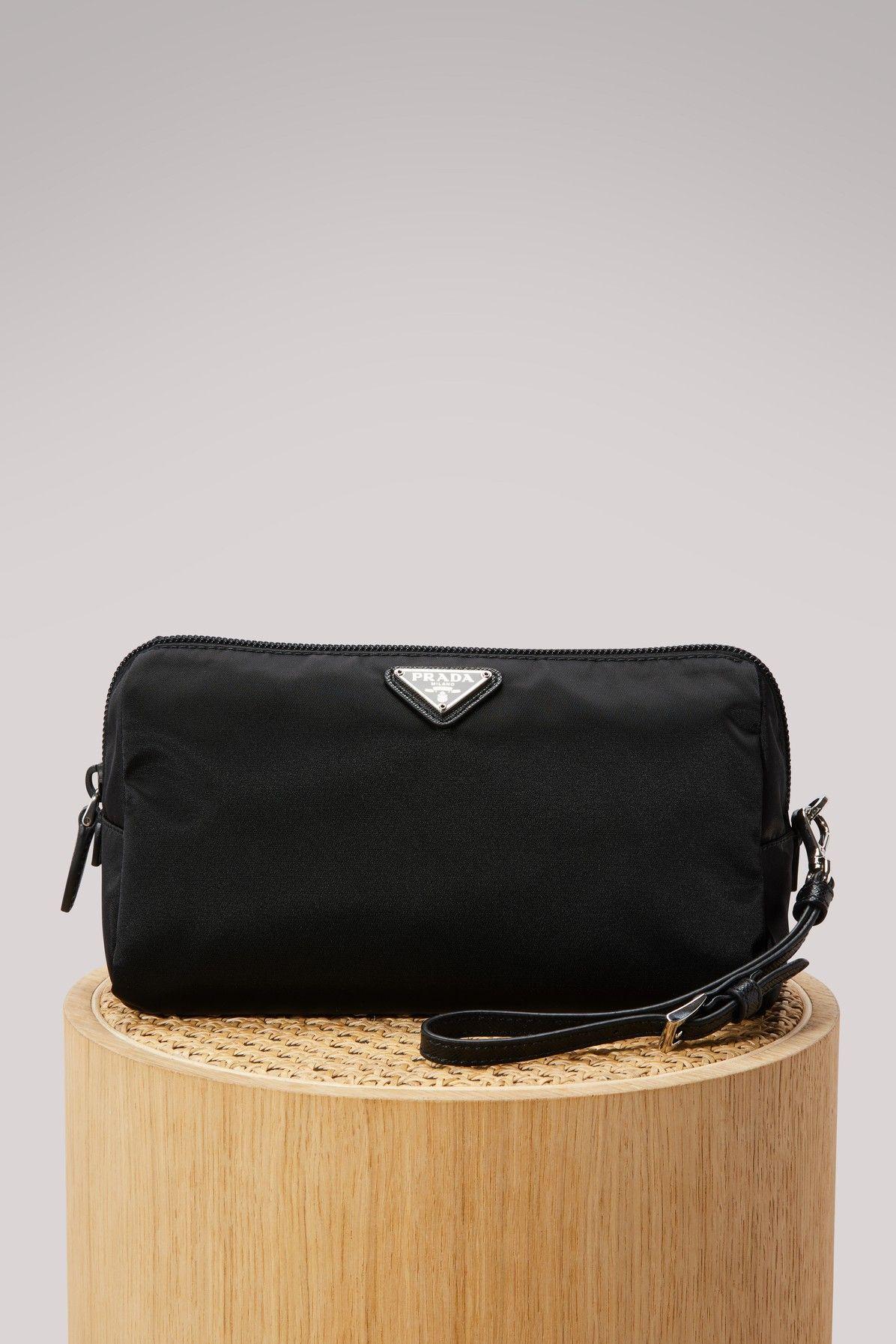 b1327a831a4098 PRADA NYLON CLUTCH BAG. #prada #bags #clutch #nylon #hand bags ...