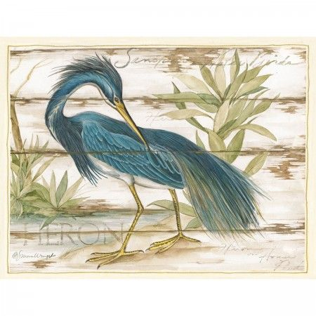 Blue Heron Sanctuary Note Cards