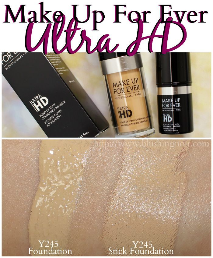 Make Up For Ever Ultra HD Foundation Swatches Best