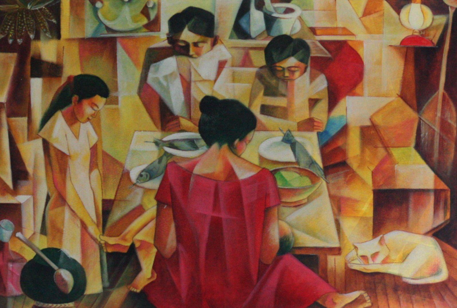 philippines art Family Prayer Art from Philippines