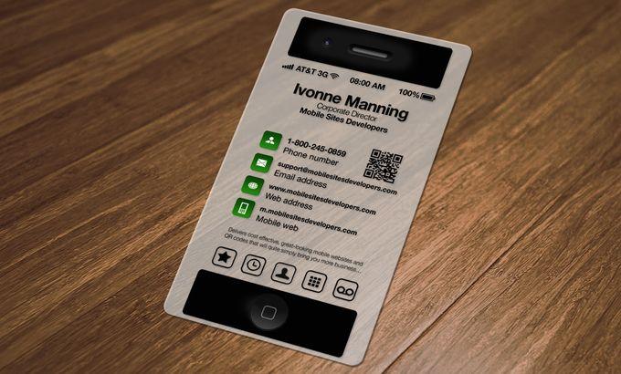Business card iphone cerca con google mauro business for Iphone app for business cards