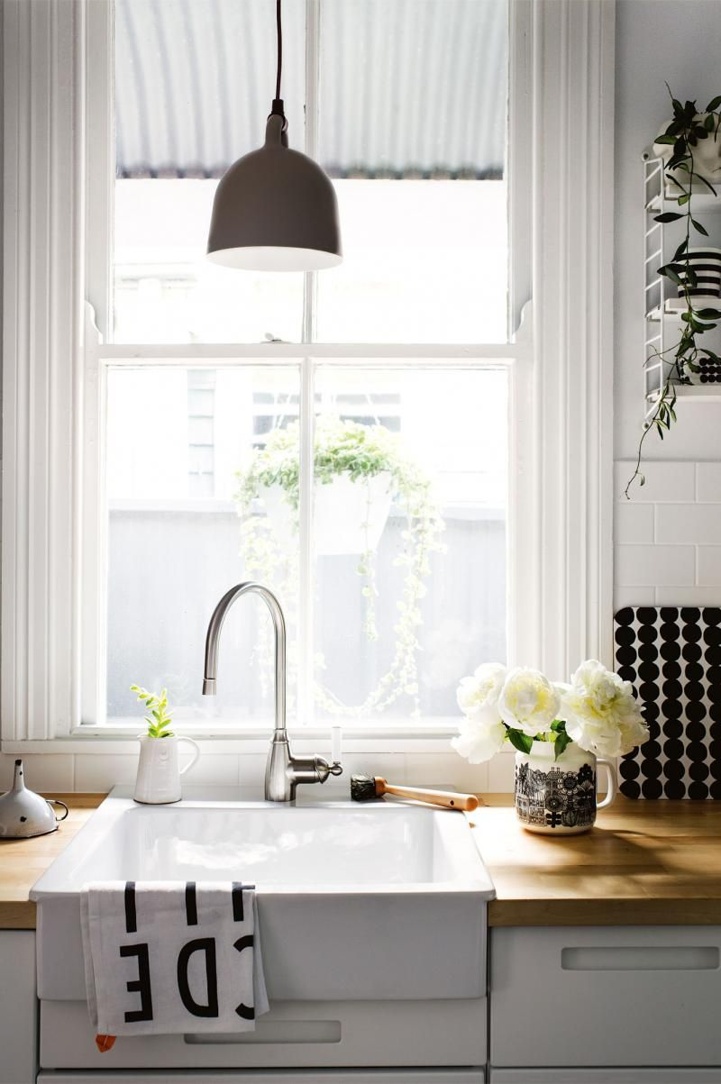A Seafront Scandinavian Home In Newcastle Nsw Ikea Farmhouse Sink Kitchen Remodel New Kitchen