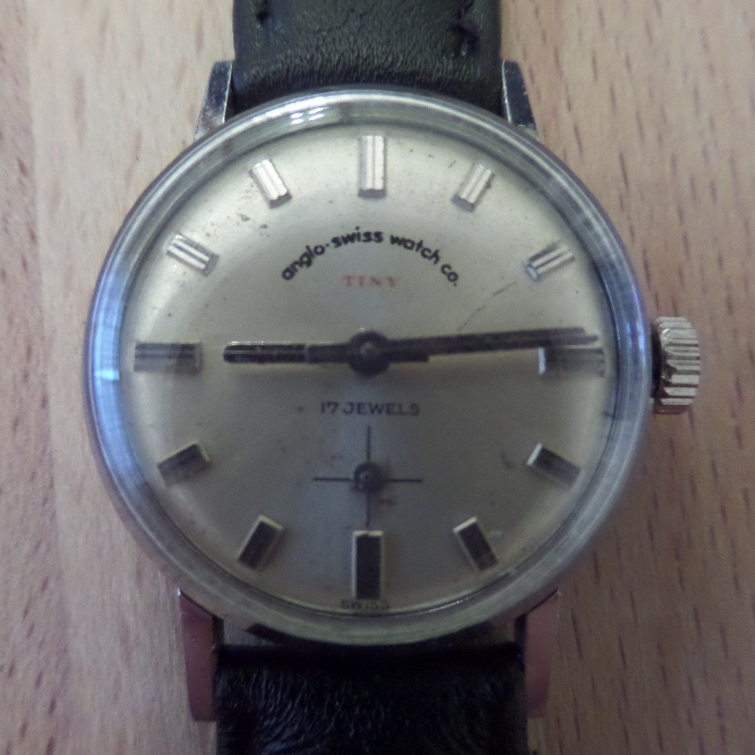 Anglo Swiss Watch Co 39 Tiny 39 1960 39 S Swiss Made Untouched Guaranteed Genuine Ladies Manual Mechanism Wris Swiss Watches Retro Watches Watches