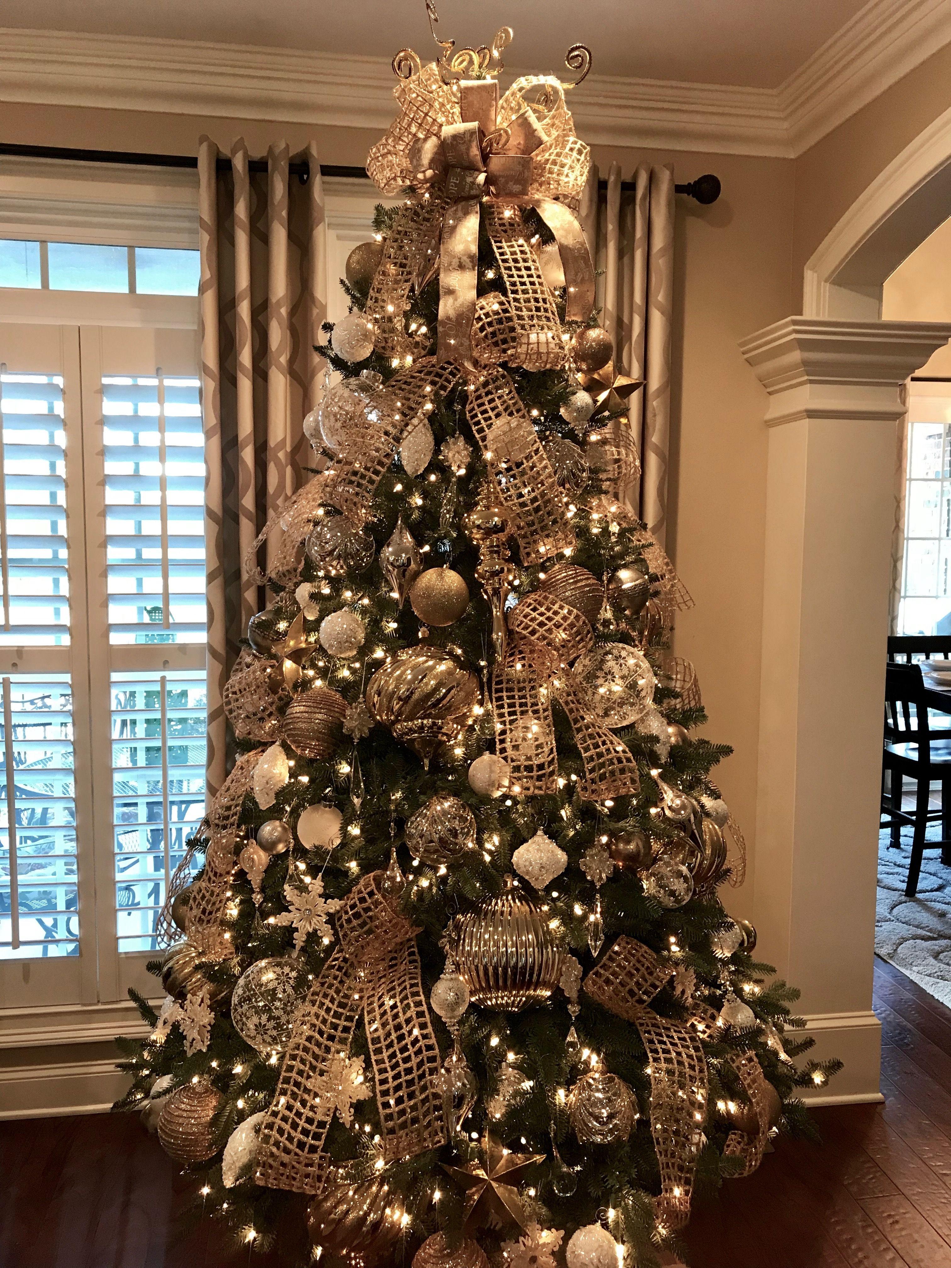 Tucker Christmas 2017 Elegant Christmas Trees Gold Christmas Tree Decorations Gold Christmas Tree