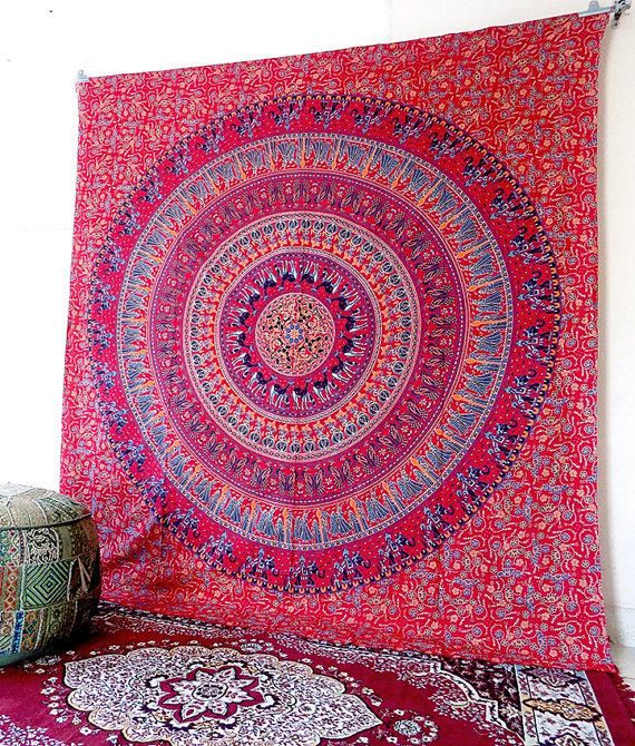 Pink Wall Tapestry large modern wall tapestry | tapestry for wall | pinterest