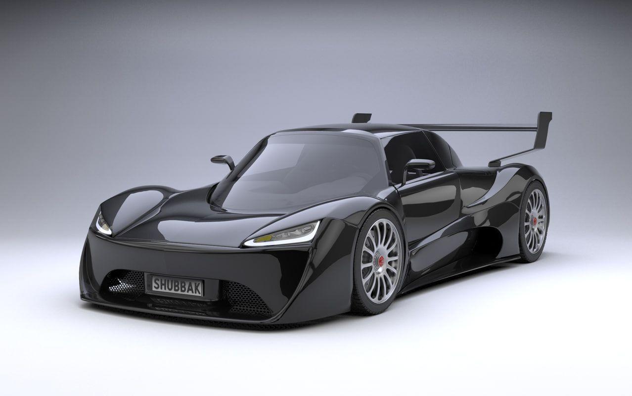 Supercar System 3d Model Super Cars 3d Model Model