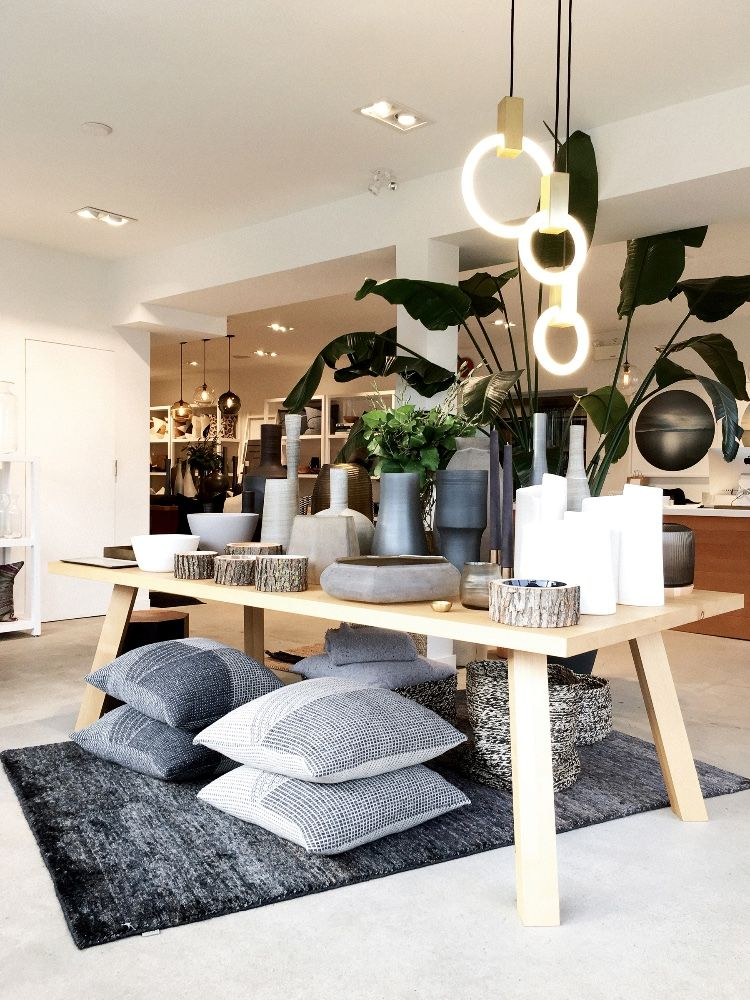 Provide's Vancouver, Canada showroom featuring a curated