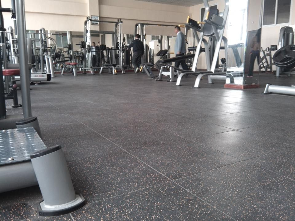 GYM Mat, Rubber Tile, GYM Strength Area Floor, GYM FLoor