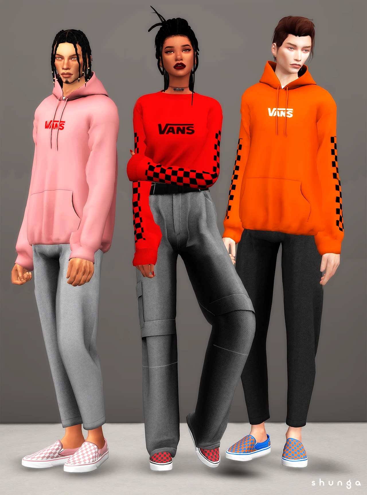 """aea8d1e746f shunga  """" I m bringing you the classic slip-ons from VANS. I used to wear  them all the time so I thought it would be nice to have them for my sims  too."""