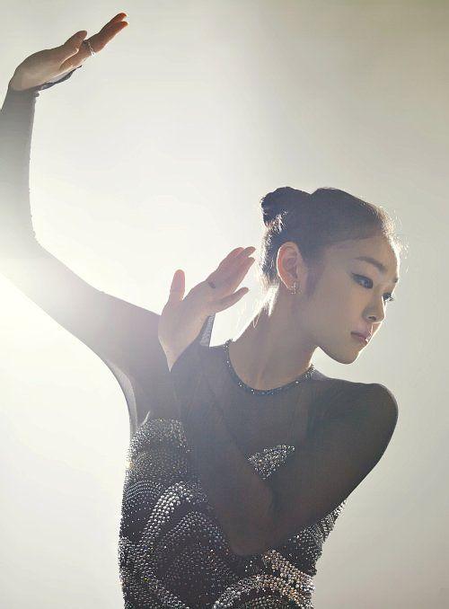 Yu-na Kim.