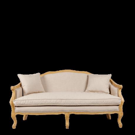 Canapé 2 places Romance 162 x 78 cm H 80 cm Pour un salon au style