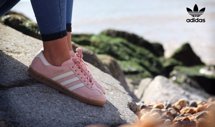 Acción de gracias Cuna Perímetro  Adidas Hamburg Vapour Pink Off-White Gum Women's Trainers - Landau Store -  Product Review - November 15, 2020 | Adidas hamburg, Trainers women, Adidas