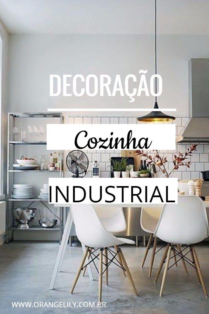 Decora O Cozinha Industrial Decora O Cozinha Decora O Pinterest
