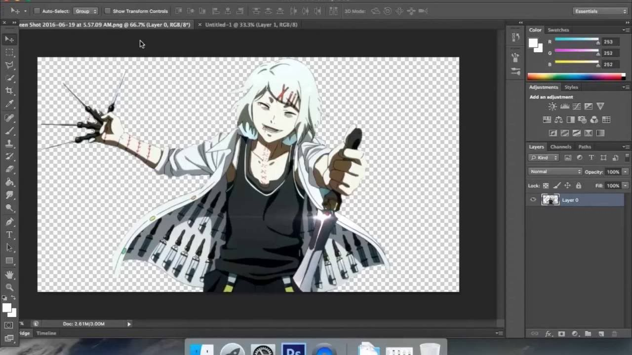 How To Create A Simple Anime Wallpaper Using Photoshop Cs