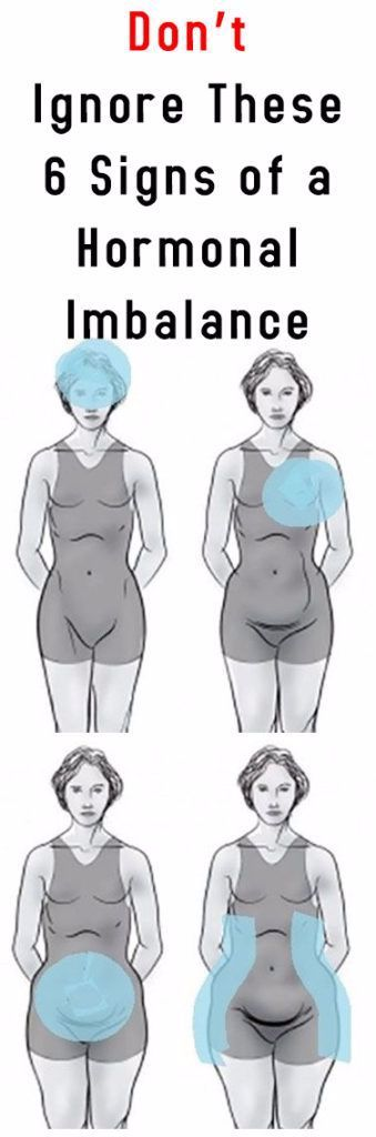 Don't Ignore These 6 Signs of a Hormonal Imbalance #fitness #beauty #hair #workout #health #diy #ski...