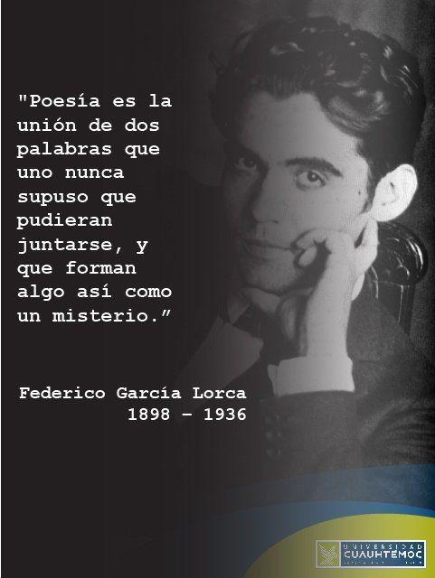 Carrie Neyman Carrieneyman Federico Garcia Lorca Frases Federico Garcia Lorca Citas De Poesía
