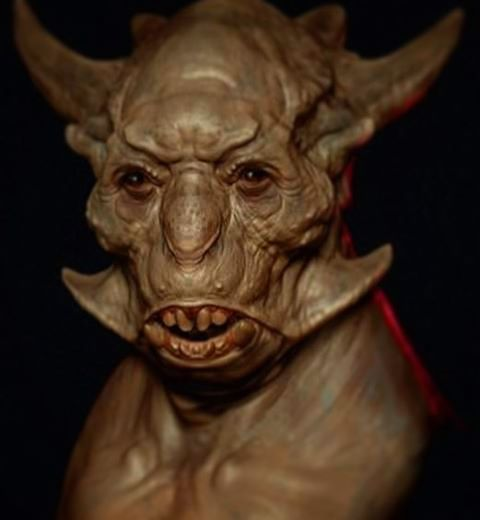 another old creature from the archives fantasy zbrush creature