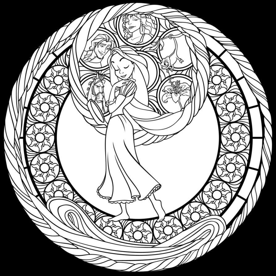 Sg rapunzel coloring page by akiliamethyst on deviantart