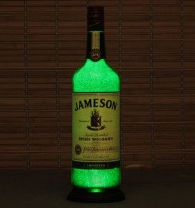 Check Out Jameson Irish Whiskey Liquor Bottle Lamp Accent Light Bar Man  Cave Fathers Day On Bodaciousbottles