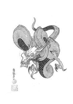 japanese dragon tattoo designs에 대한 이미지 검색결과