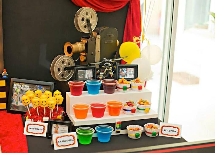 Lego Movie Themed Birthday Party Ideas Planning Decor Cake - Movie themed birthday cake