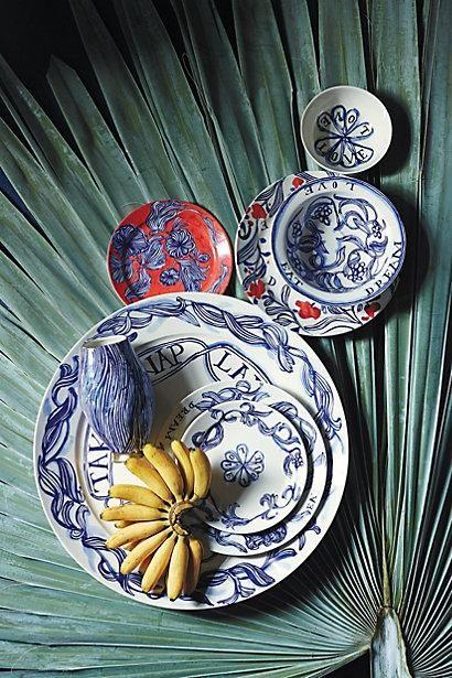 plates. anthropologie.