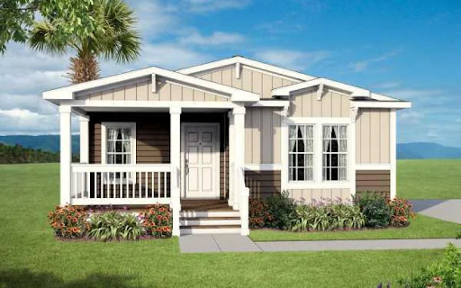 5 Delightful Cottage Style Mobile Homes You Have To See Mhvillager In 2020 Homes Of Merit Modular Homes Best Modular Homes
