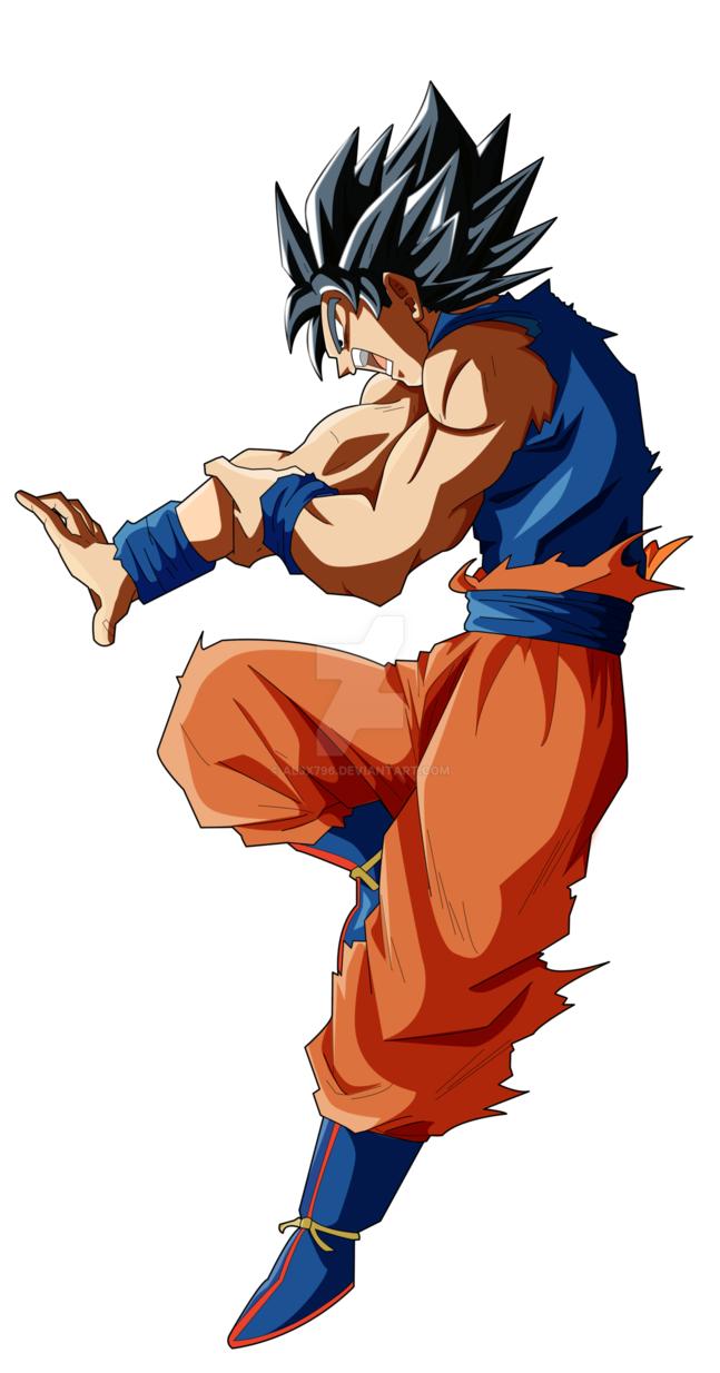 Goku Limit Breaker Hakai Personajes De Goku Figuras De Goku Ilustracion De Dragon