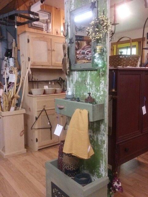Photo of Repurposed old wooden door