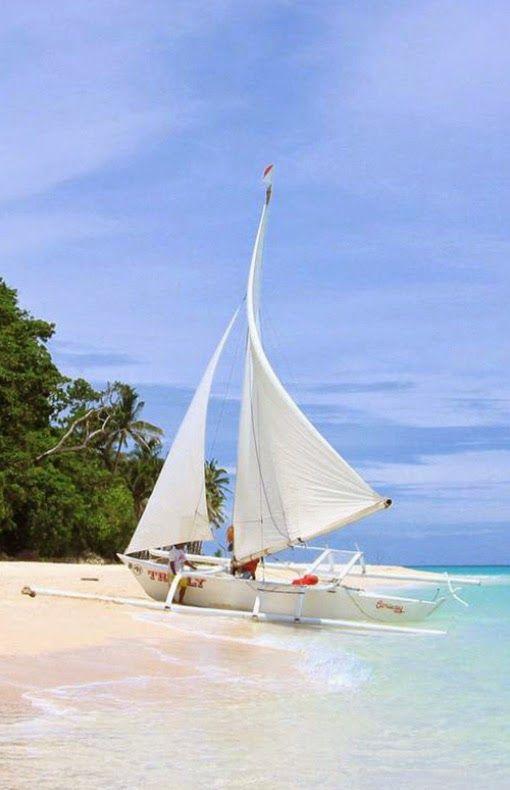 Puka Beach,Boracay, Philippines