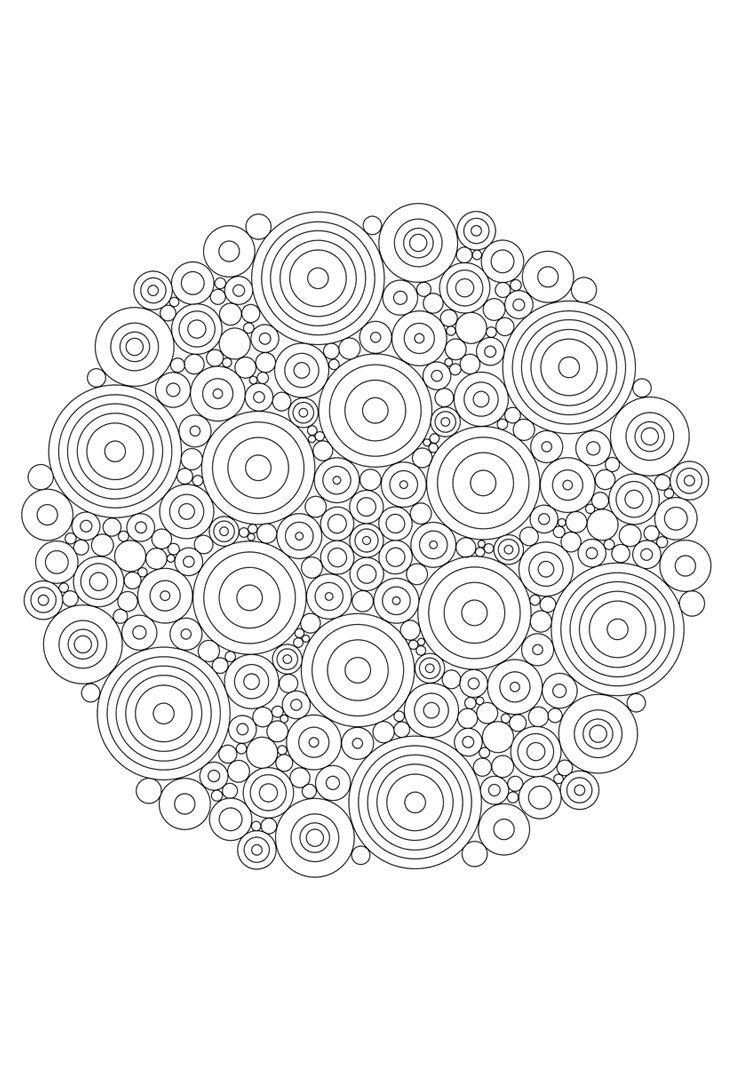 Mandala Mandala Kleurplaten Abstracte Kleurplaten Kleurplaten