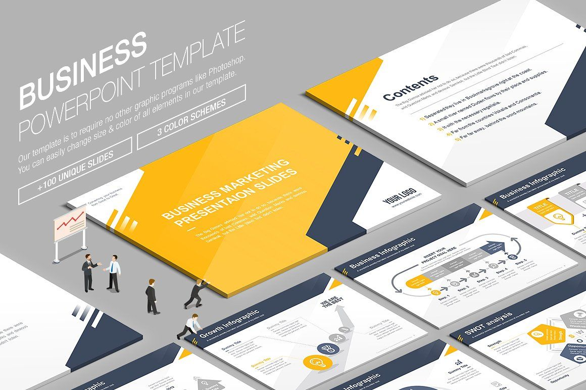 Awesome Powerpoint Bundle Presentations PowerPoint - Awesome logo presentation template scheme