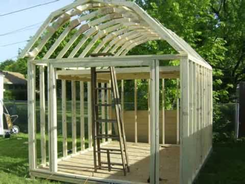 Gabrel Barn Rafter Build - Learn How To Build a Barn Roof