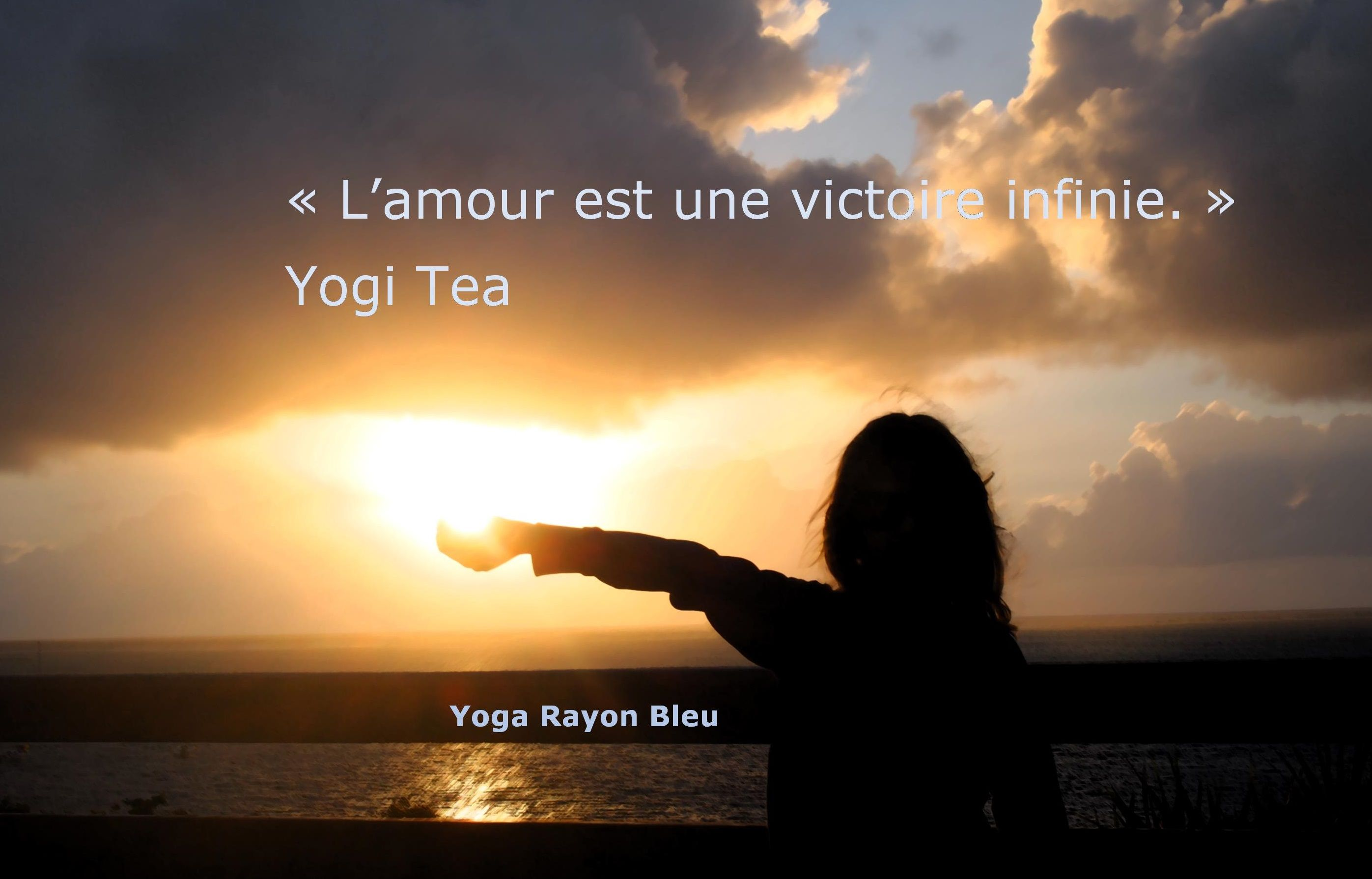 Citation Yogi Tea Photo Ile Maurice A Trou D Eau Douce Yoga