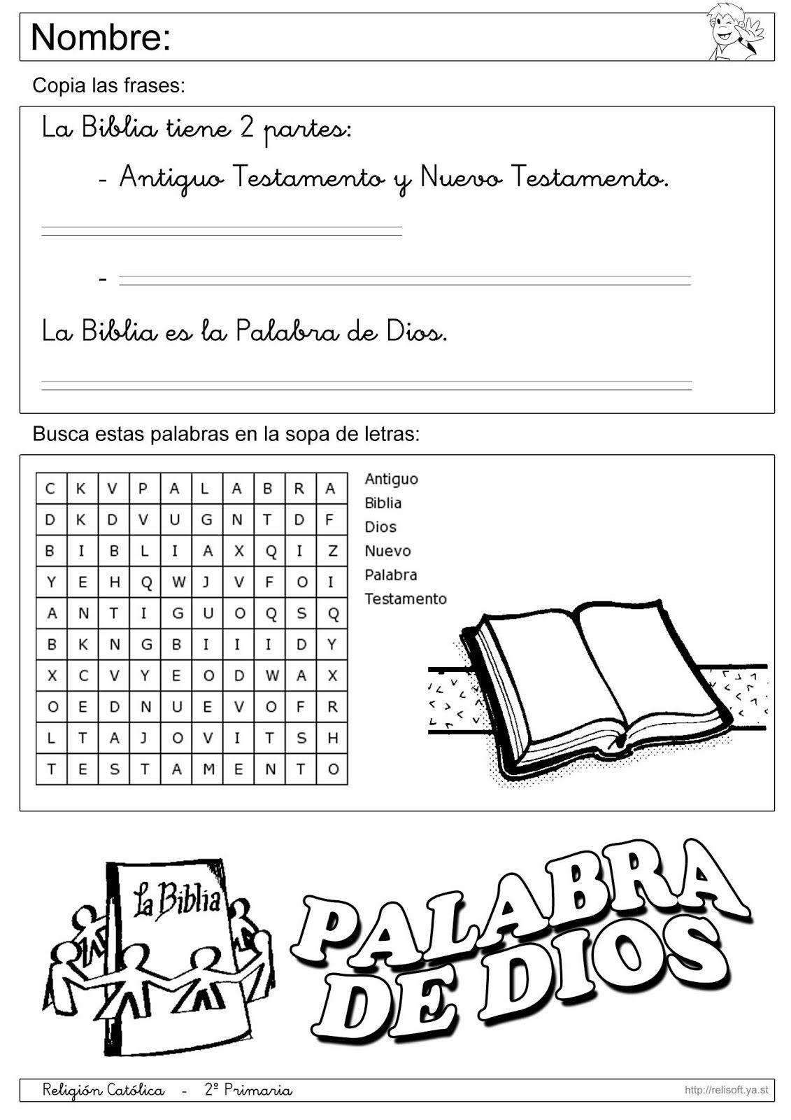 Cristianos De Para Libro Ninos Manualidades