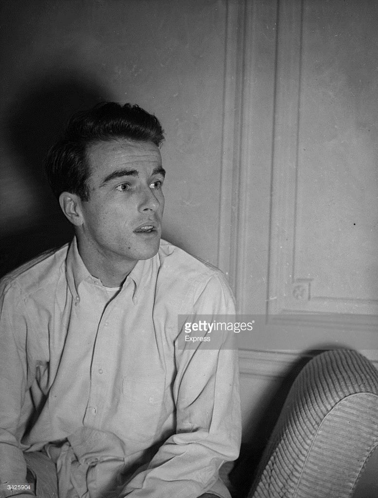 American actor Montgomery Clift (1920 - 1966).