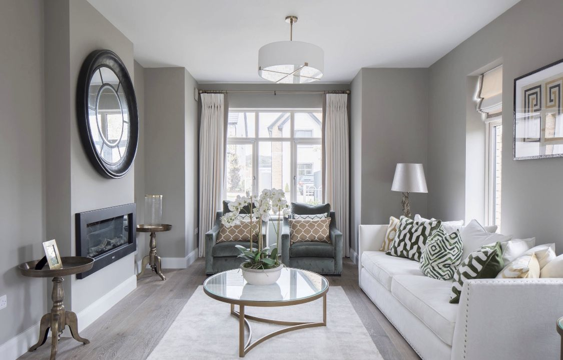 Traditional Style Grey Living Room Decor | Living Room Grey, Grey Walls Living Room, Living Room Decor Gray