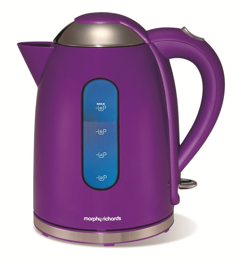 Morphy Richards Purple Coffee Maker : Purple Coffee Maker Accents Purple Jug Kettle Kitchen Appliances & Electric Kettles Purple ...
