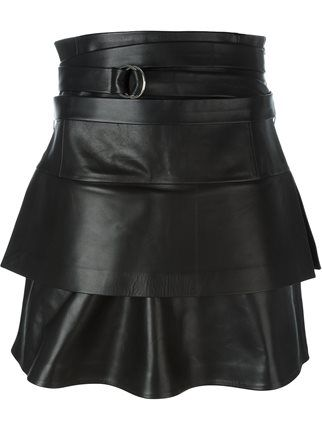 056c60900 Iro belted leather skirt | Stuff to Buy | Black leather skirts ...