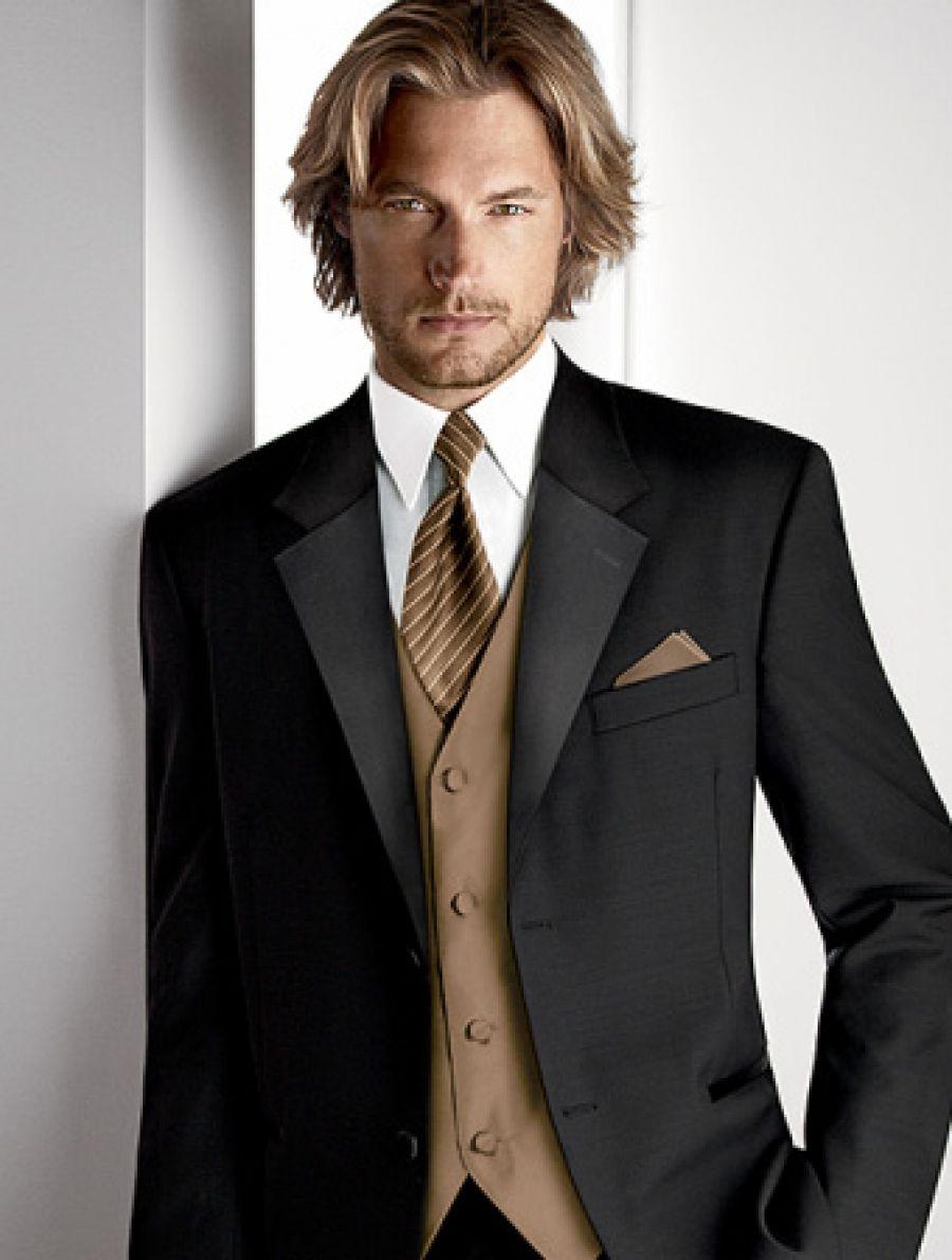 Calvin Klein Tuxedo in Latte Fusion | Pinspire My Wedding ...