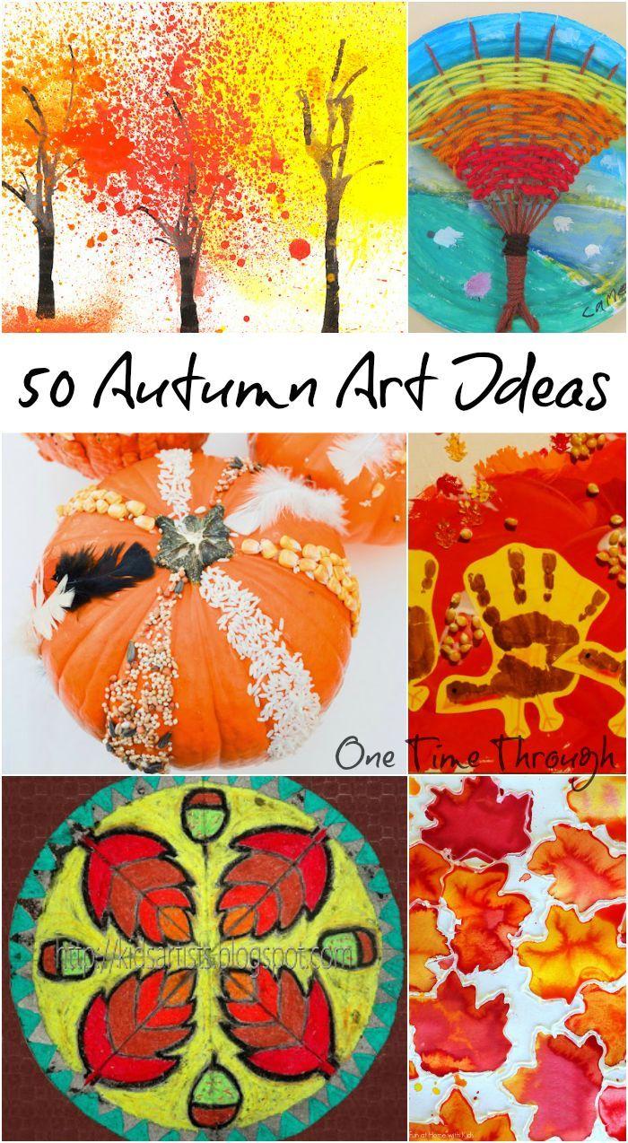 Open-Ended Autumn Art Activities for Kids | Autumn art ...
