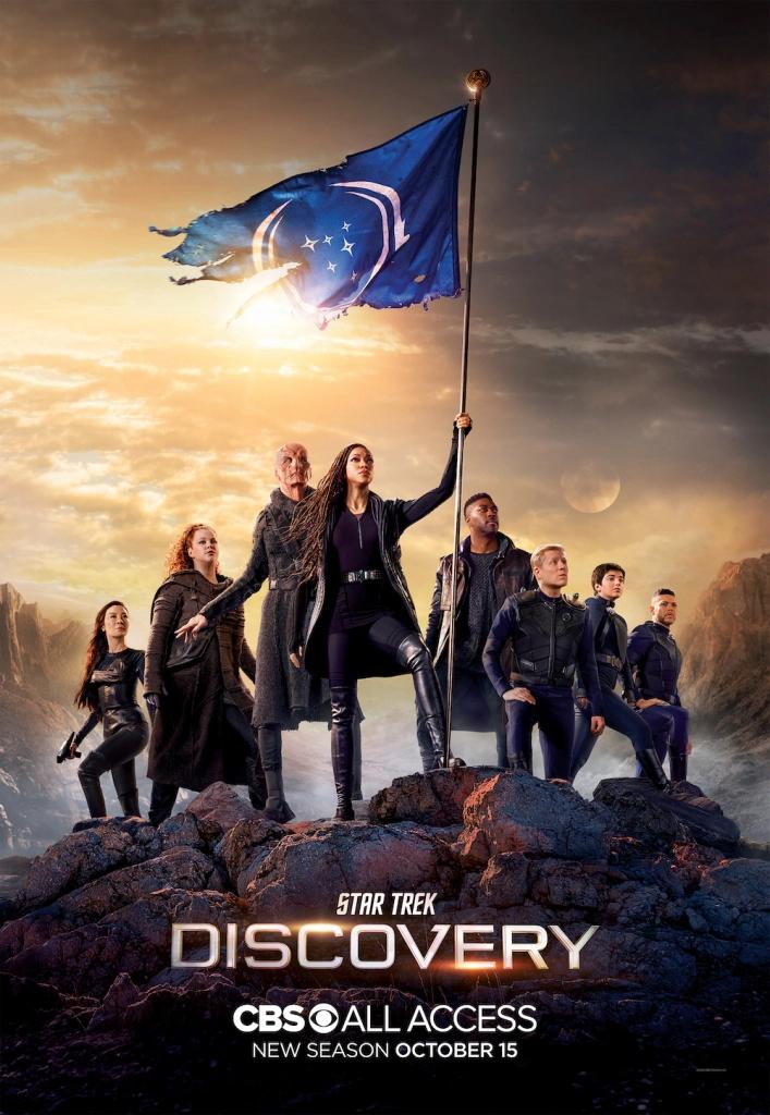Star Trek Day Discovery Season 3 Trailer Podcast Series Part Of Anniversary Celebration Star Trek Day New Star Trek Star Trek