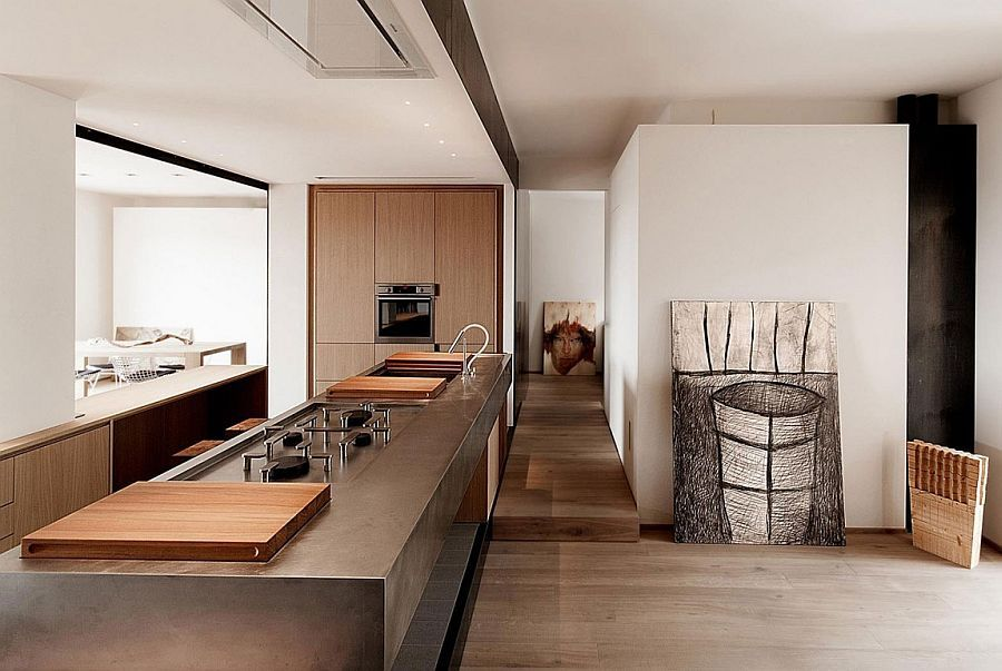 Long Kitchen Island Design For The Revamped Apartment In Italy Pleasing Italian Design Kitchen Inspiration Design