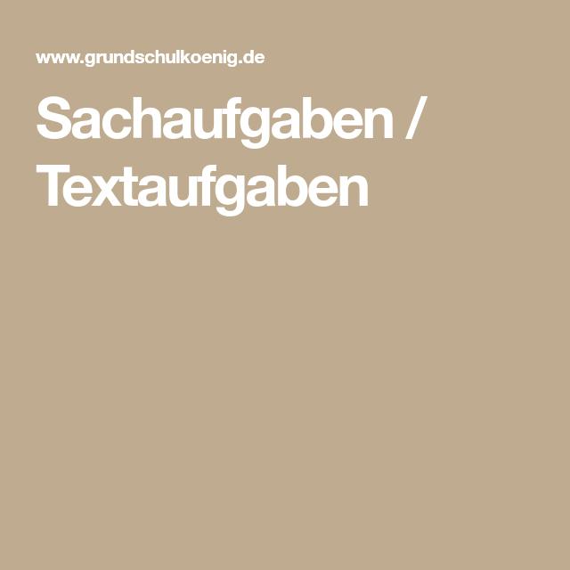 Sachaufgaben / Textaufgaben | Arbeitsblätter für Kinder | Pinterest ...