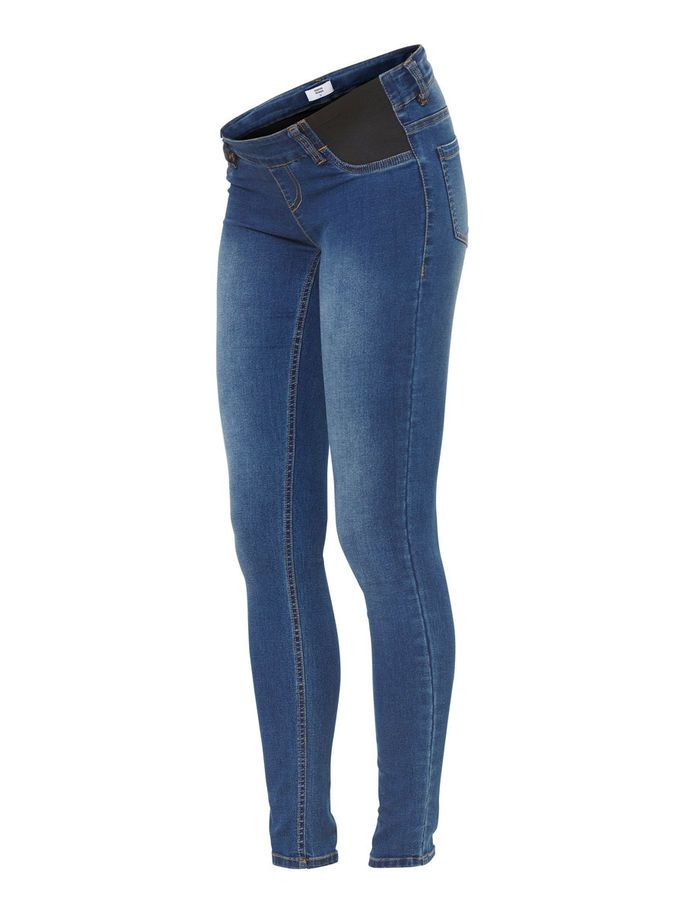 5901907c5b538 Skinny maternity jeans from MAMALICIOUS. The basic jeans to use in all  occasions.